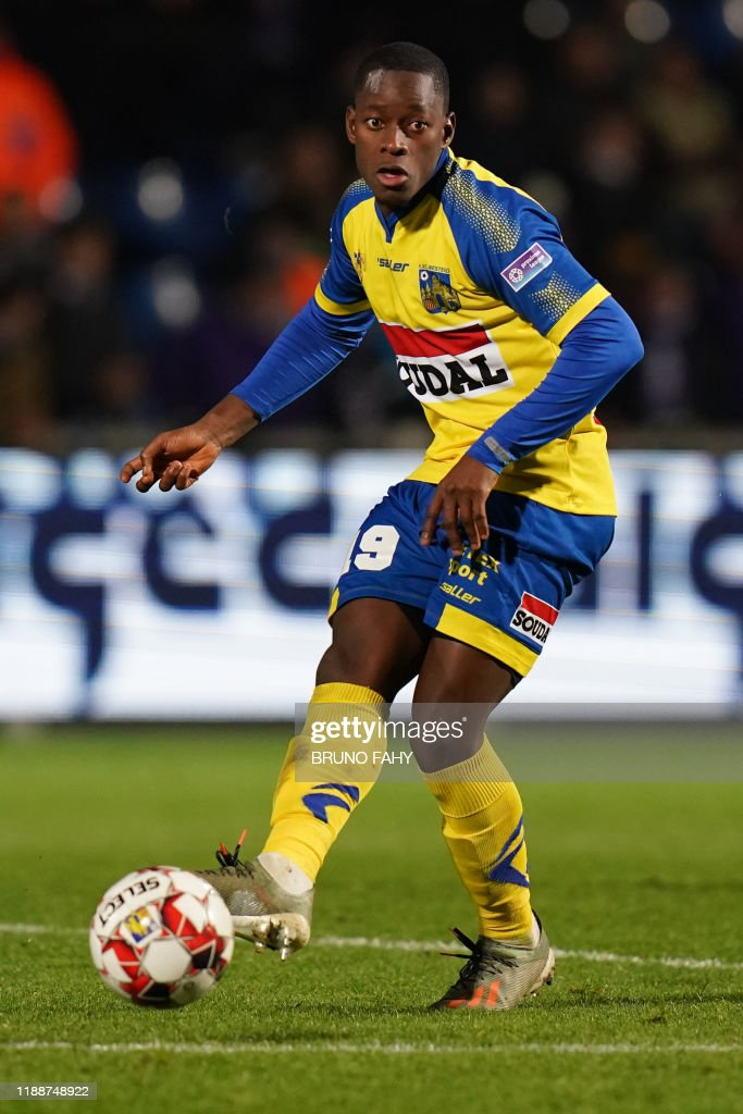 Westerlo's Kader Keita pictured in action during a soccer match... Photo  d'actualité - Getty Images
