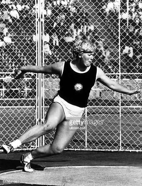 Westermann Liesel *Leichtathletin Diskuswerferin D bei den Deutschen LeichtathletikMeisterschaften in Hannover 1968