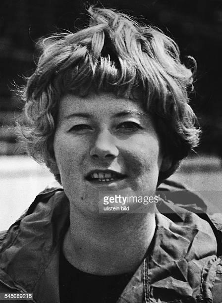 Westermann Liesel *Leichtathletin Diskuswerferin D Portrait 1968