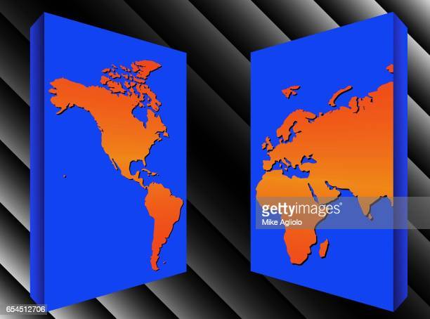 western and eastern hemispheres - mike agliolo stock pictures, royalty-free photos & images