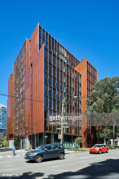 Western and northern facades viewed from the street Connor Apartments Sydney Australia Architect Smart Design Studio 2017