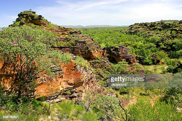 Western Australia Kimberley - Mirima National Park, view to Hidden Valley, sacred site of the Aborigines
