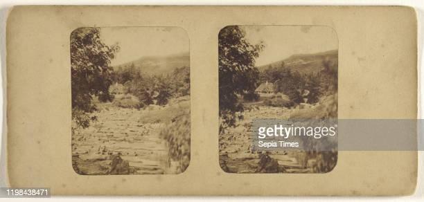 Western Cemetery Dundee Scotland James Valentine 1870s Albumen silver print