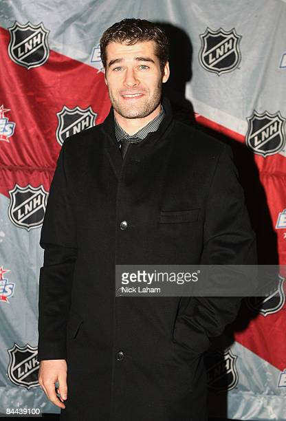 Western Conference AllStar Patrick Marleau of the San Jose Sharks arrives for the Honda NHL Superskills competition as part of the 2009 NHL AllStar...
