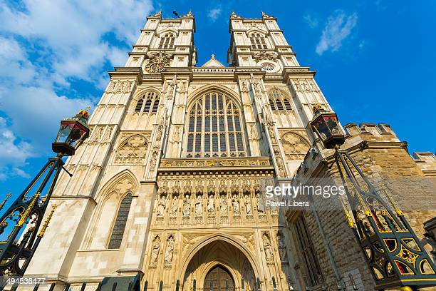 Western Entrance to Westminster Abbey in London