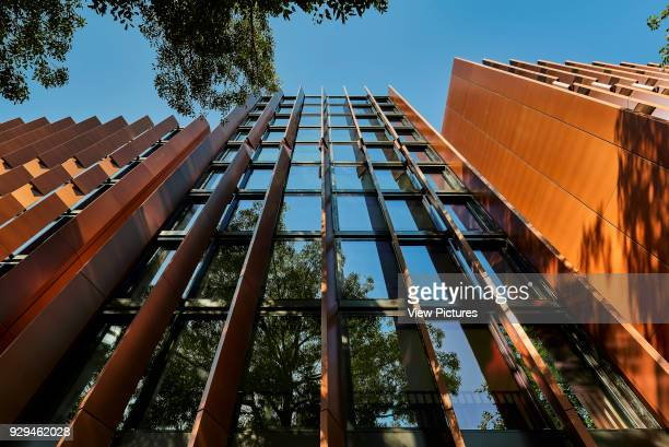 Western facade looking up from the street below Connor Apartments Sydney Australia Architect Smart Design Studio 2017