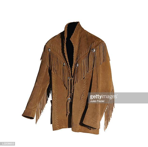 western jacket - fringing stock pictures, royalty-free photos & images