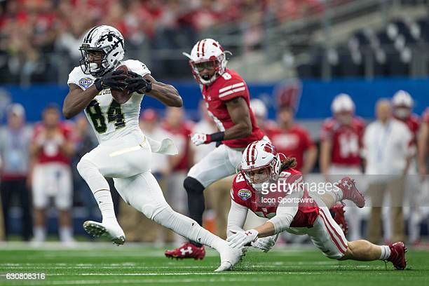 Western Michigan Broncos wide receiver Corey Davis during the NCAA Bowl Game Series Goodyear Cotton Bowl matchup between the Western Michigan Broncos...