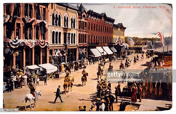 Western Parade Cheyenne Wyoming USA 1910