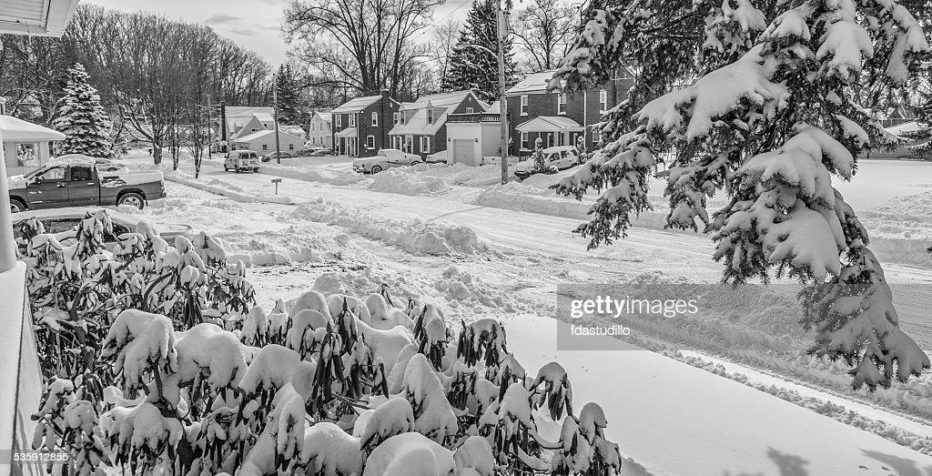 Western Pensilvânia-vento geladoweather forecast : Foto de stock