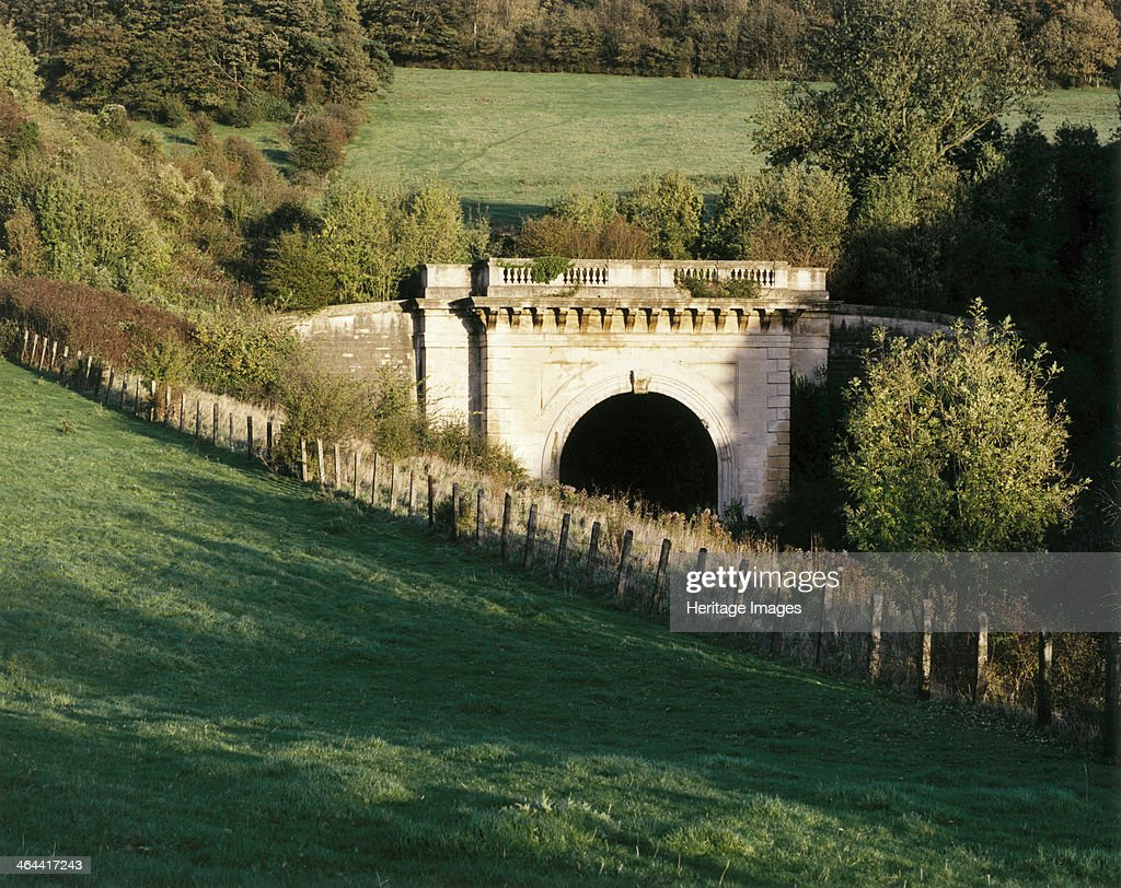 Western portal of Box Tunnel, Wiltshire. Artist: M Hesketh Roberts : News Photo