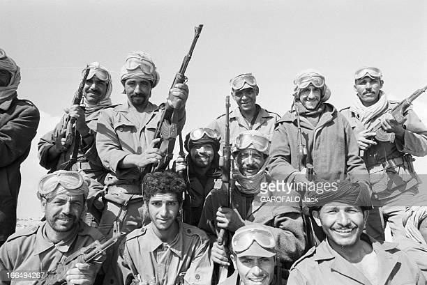 Conflict Between Morocco And Polisario Octobre 1979 Sahara Occidental Sud Maroc Hassan 2 roi du Maroc lance une grande opération militaire...