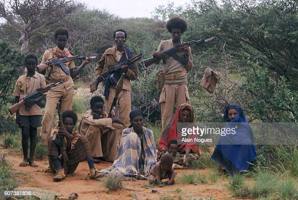 Western Somalia Liberation Front guerillas train at a military camp in Somalia The struggle continues with Ethiopians for the control of Ogaden and...
