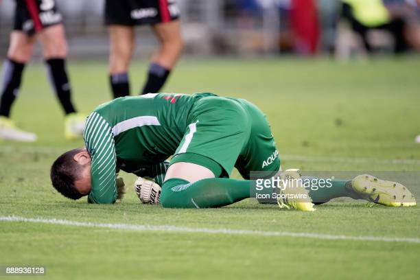 Western Sydney Wanderers goalkeeper Vedran Janjetovic saves a goal at the Hyundai ALeague match between Western Sydney Wanderers and Sydney FC on...