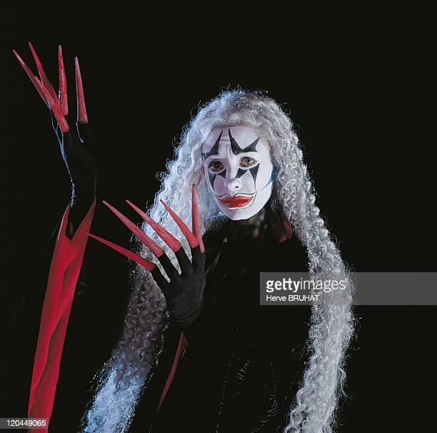 Western Theater Natalie Dessay in Salzburg Austria in 1997 Natalie Dessay as Queen of the night in Mozart's opera The Magic Flute Salzburg Festival