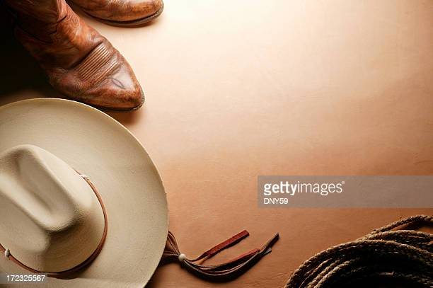 western theme - cowboy hat stock pictures, royalty-free photos & images