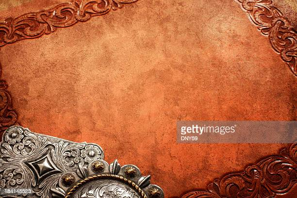 western theme - leather belt stock pictures, royalty-free photos & images
