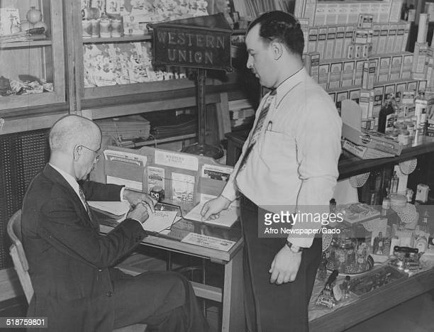 Western Union telegraph operator at PenDol Medical Center August 13 1938