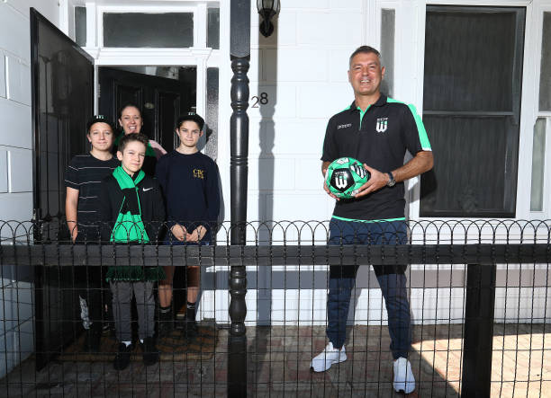 AUS: Western United Coach Mark Rudan Visits Fans