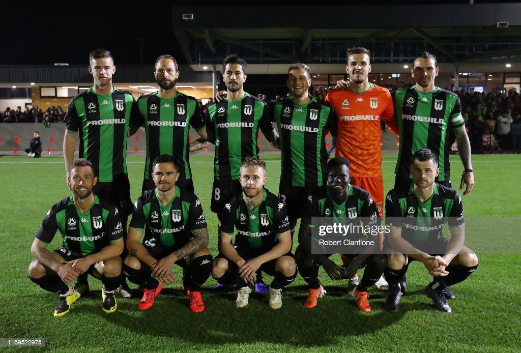 Western United FC v Caroline Springs George Cross FC : News Photo