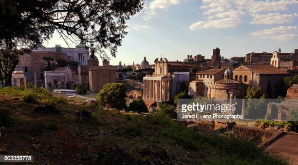 Western View of the Roman Forum
