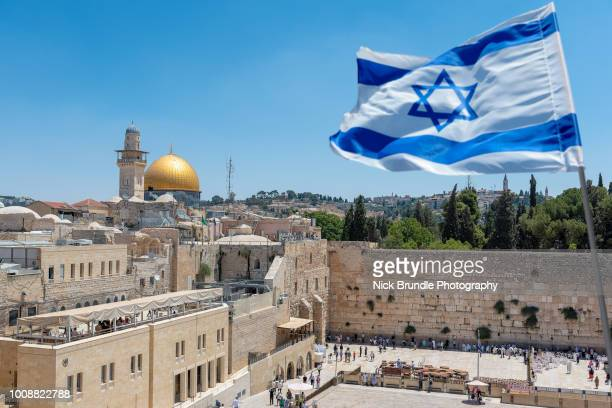 western wall, jerusalem, israel - israeli ethnicity stock pictures, royalty-free photos & images