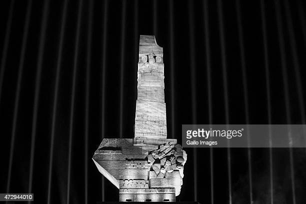 Westerplatte Monument in memory of the Polish defenders during the 70th anniversary celebration of the end of the Second World War on May 8 2015 at...