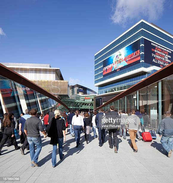 Westfield City Stratford Opening Day Crowds Various Architects United Kingdom Architect