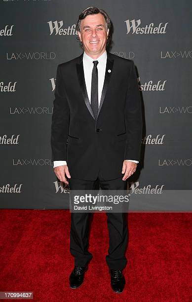 Westfield Group CoCEO Peter Lowy attends the grand opening of the new Tom Bradley International Terminal at LAX Airport presented by Los Angeles...
