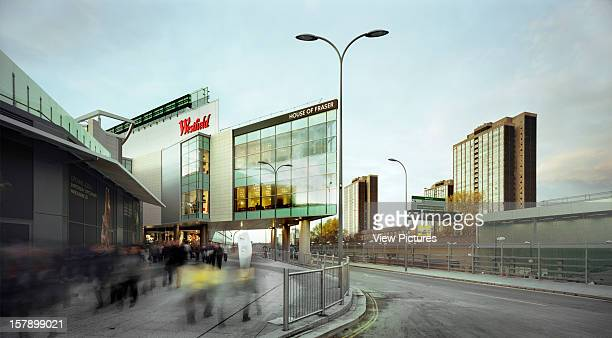 Westfield London Shopping Mall,United Kingdom, Architect London, Westfield London Shopping Mall Exterior Entrance From Station.