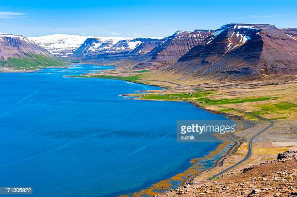 westfjords, iceland - westfjords iceland stock photos and pictures
