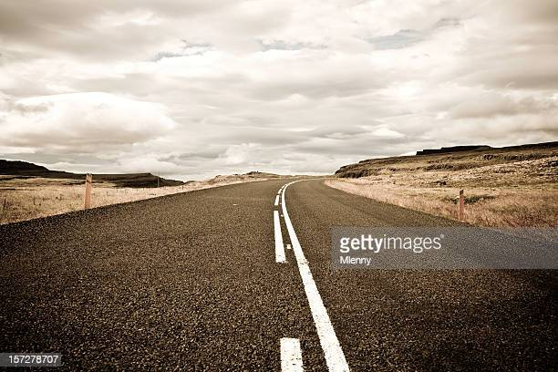 westfjords road iceland - mlenny stock pictures, royalty-free photos & images