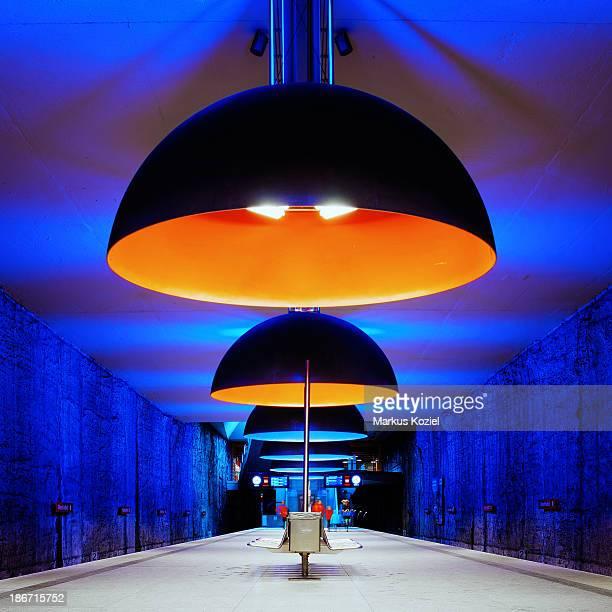 CONTENT] Westfriedhof underground station in Munich