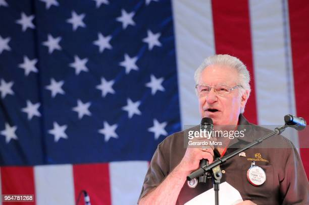 Westgate Resorts CEO David Siegel speaks during the Westgate Resorts Military Weekend 2018 at Westgate Vacation Villas Town Center Resort on May 4...