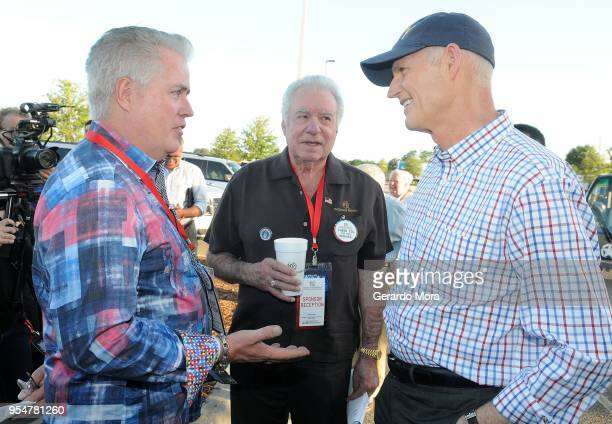 Westgate Resorts COO Mark Waltrip Westgate Resorts CEO David Siegel and Florida Governor Rick Scott attend the Westgate Resorts Military Weekend 2018...
