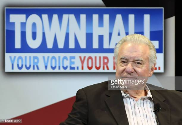 Westgate Resorts Founder and CEO David Siegel participates in a town hall meeting on the opioid crisis as part of first lady Melania Trump's Be Best...