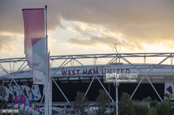 Westham United stadion at the Queen Elizabeth Olympic Park London England October 29 2017
