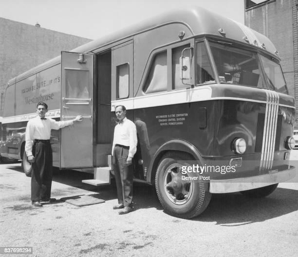 Westinghouse Corp ***** Left DL Carbaugh Right CL Sicher Credit Denver Post