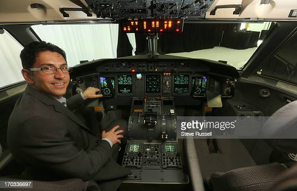 WestJet Encore president Ferio Pugliese was present as WestJet officials toured of the Bombardier manufacturing plant where the Q400 planes are made...