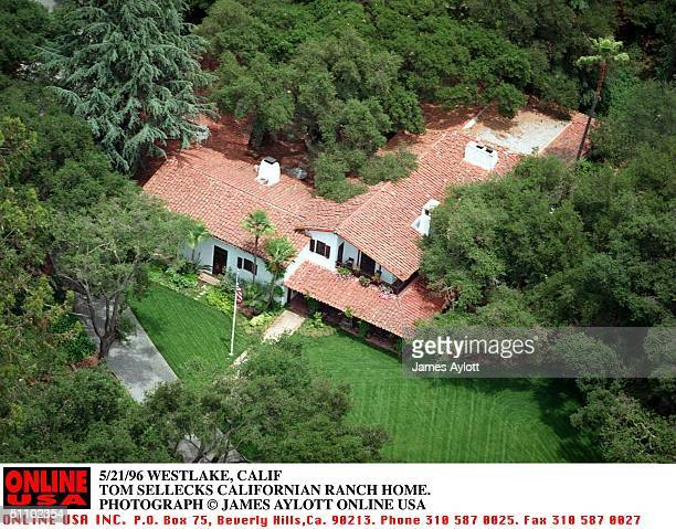 Westlake Calif The Ranch Home Of Actor Tom Selleck