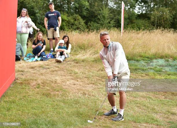 Westlife music artist Nicky Byrne during the Pro Am event at The ISPS HANDA World Invitational at on July 28, 2021 in Ballymena, United Kingdom.