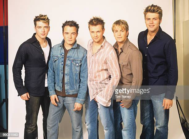 Westlife pop group 2002