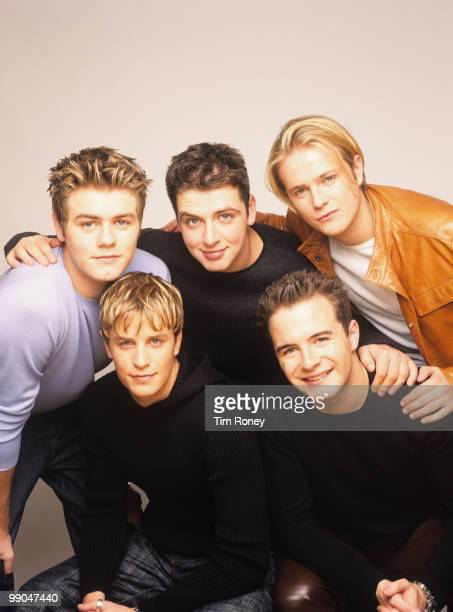 Westlife pop group circa 2000