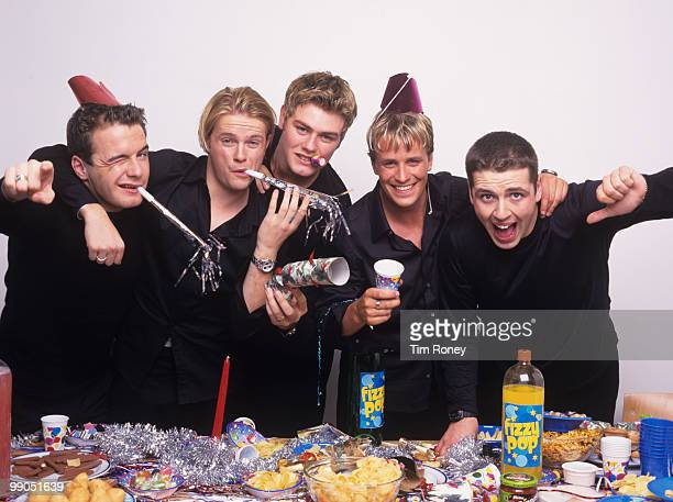Westlife pop group circa 2001