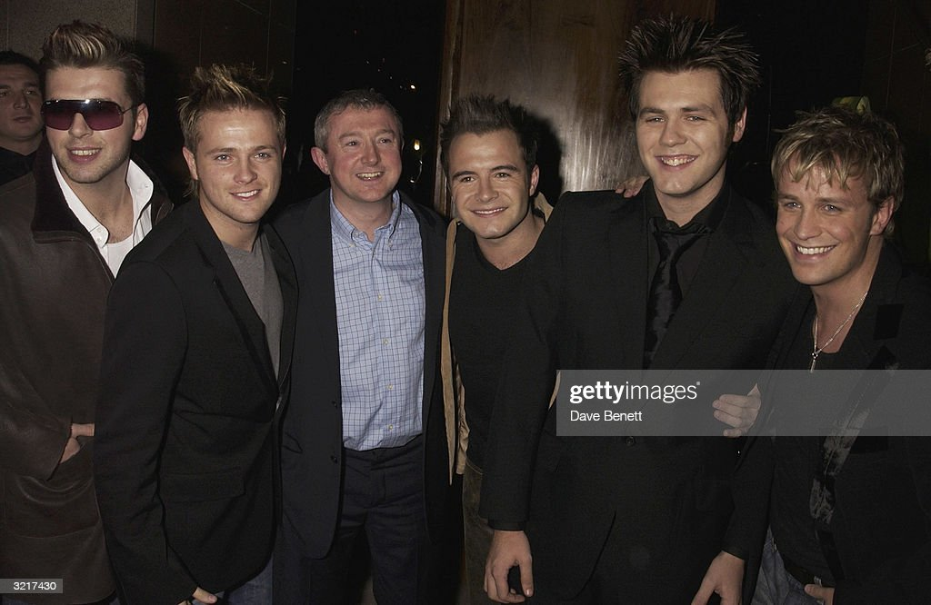 'Westlife' party at 'Zuma' in London : News Photo