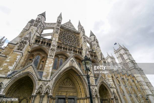 westminster abbey exterior, london, england, uk - westminster abbey stock pictures, royalty-free photos & images