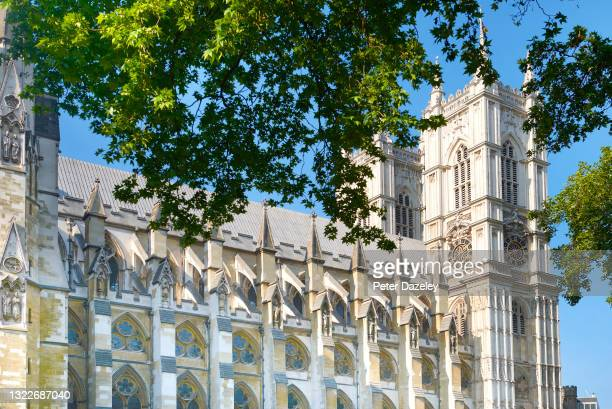 Westminster Abbey, formally titled the Collegiate Church of Saint Peter at Westminster, is a large, mainly Gothic abbey church in the City of...