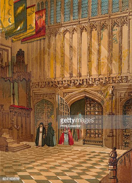 Westminster Abbey Henry The Seventh's Chapel' c1845 The structure of the chapel is a threeaisled nave composed of four bays The apse of the chapel...