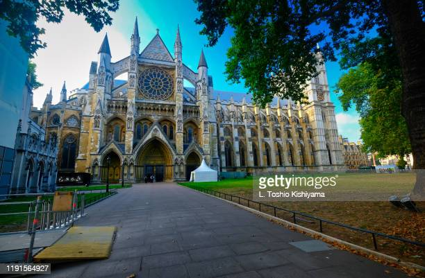 westminster abbey in london, england - westminster abbey stock pictures, royalty-free photos & images