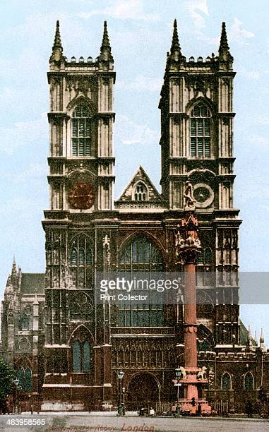 Westminster Abbey London early 20th century